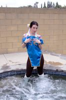 Chun Li Cosplay 2 by Mistress-Zelda