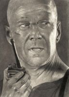 bruce willis by E777Y
