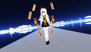 ..::MMD::.. Let's bet, pick one card... by nanackerel