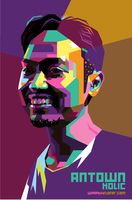 Antown Holic Pop Art WPAP by ndop