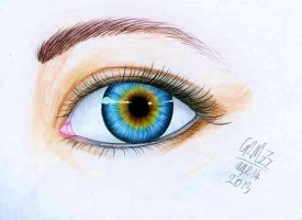 Charley's Eye Ball by Gresta-GraceM