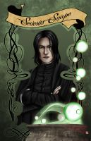 Snape by TyrineCarver