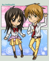 AT - Usui and Misaki by knilzy95