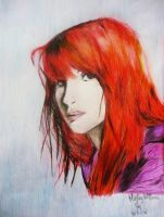 Hayley Williams by wAnnw