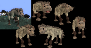 Spore Striped Hyena by ThatCatUpstairs