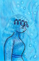 Of Water and Sea Foam Hair by Taiya001