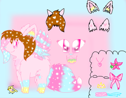 New Cupcake Sprinkle Lovelace Reference Sheet by xXPastelWishesXx