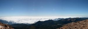 Panorama from Pike's Peak by designsbykari
