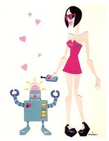 Pure Robot Love by TimBeard