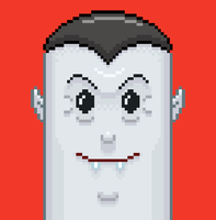 8 Bit Dracula by crumby99