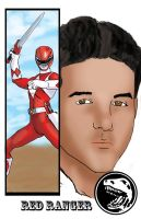 Red Ranger Jason by TheFireAngel