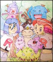 Team Rocket! -Kalos- by WalkerP