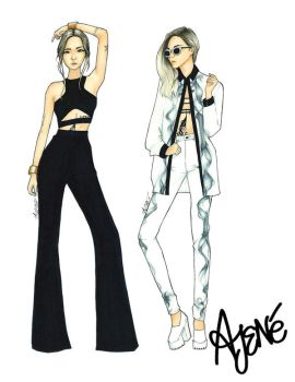 Fashionista Collection | Eugenie Grey by skitzzles