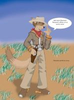 Cowboy Coyote by CyrusMacleod