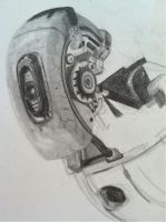 WIP GLaDOS by gabsters109