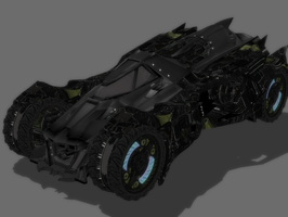 BAK - BATMOBILE by Oo-FiL-oO