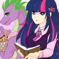 Twi and Spike by Quila-Quila