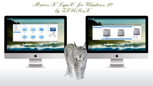 Mac os X LynX for Windows 10 rtm by ZEUSosX
