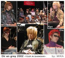 Dir en grey in Shanghai by pinkmika