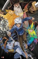 Rise of the Guardians by TyrineCarver
