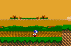 Ultimate Sonic Screen Shot 01 by triplesonicX