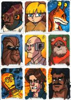 Topps - Star Wars Master Works 2 by JoeHoganArt