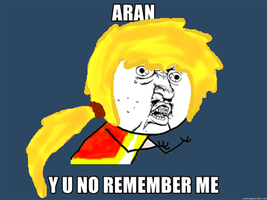 MS: Aran Y U NO by twinski010