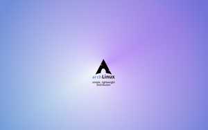 Aur Arch Linux Wallpaper by kant-o