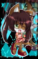 Chibi Art trade::. hazel by Xalisha-light-azureX