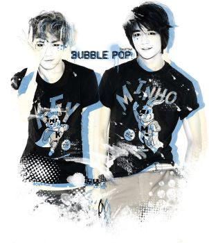 Minkey_Bubble pop! by limit73er