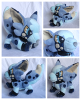 Bullet Plushie by foxpill