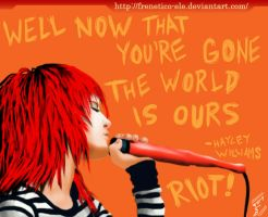 Hayley Williams - MONSTER by Frenetico-eLe