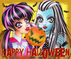 HAPPY HALLOWEEN - Monster High by Clipsy82