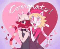 Congrats!! by SmpyCookie