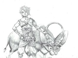 Ordon Link by onyx-forerunner