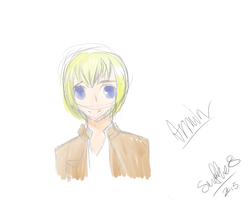 Armin (colored sketch) by sniffies