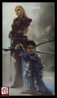 Daily - Tarim and Roslyn by Ruloc