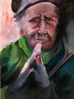 Old Woman by pachryso