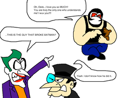THIS is the guy that broke Batman? by Scurvypiratehog