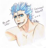 Grimmjow color by Krikascini