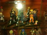 Naruto figures by thereanimatedunknown