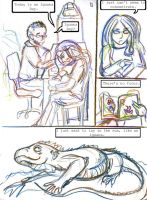 Iguana Days by persephone-the-fish