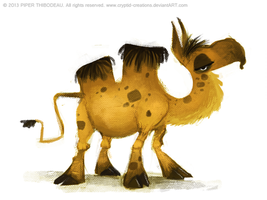 DAY 353. Lolwhatevercamel by Cryptid-Creations
