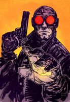 Lobster Johnson Color by thisismyboomstick