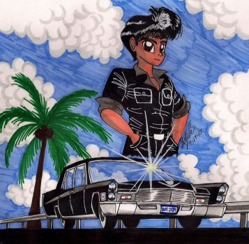 Tommy and his Cadillac by newyorkx3