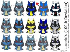 For the Love of Lucario's... by MonkeyKingHero
