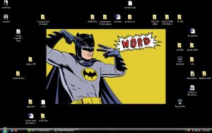 Batman Word by soliton