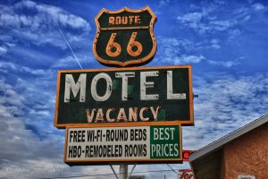 Route 66 Motel by Mac-Wiz