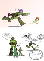 TMNT Next Gen - Nudist in training by Myrling