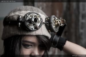 Steampunk Goggles by reinfall